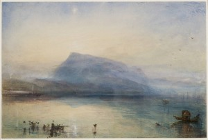 The Blue Rigi, Sunrise 1842 Joseph Mallord William Turner 1775-1851 Purchased with assistance from the National Heritage Memorial Fund, the Art Fund (with a contribution from the Wolfson Foundation and including generous support from David and Susan Gradel, and from other members of the public through the Save the Blue Rigi appeal) Tate Members and other donors 2007 http://www.tate.org.uk/art/work/T12336